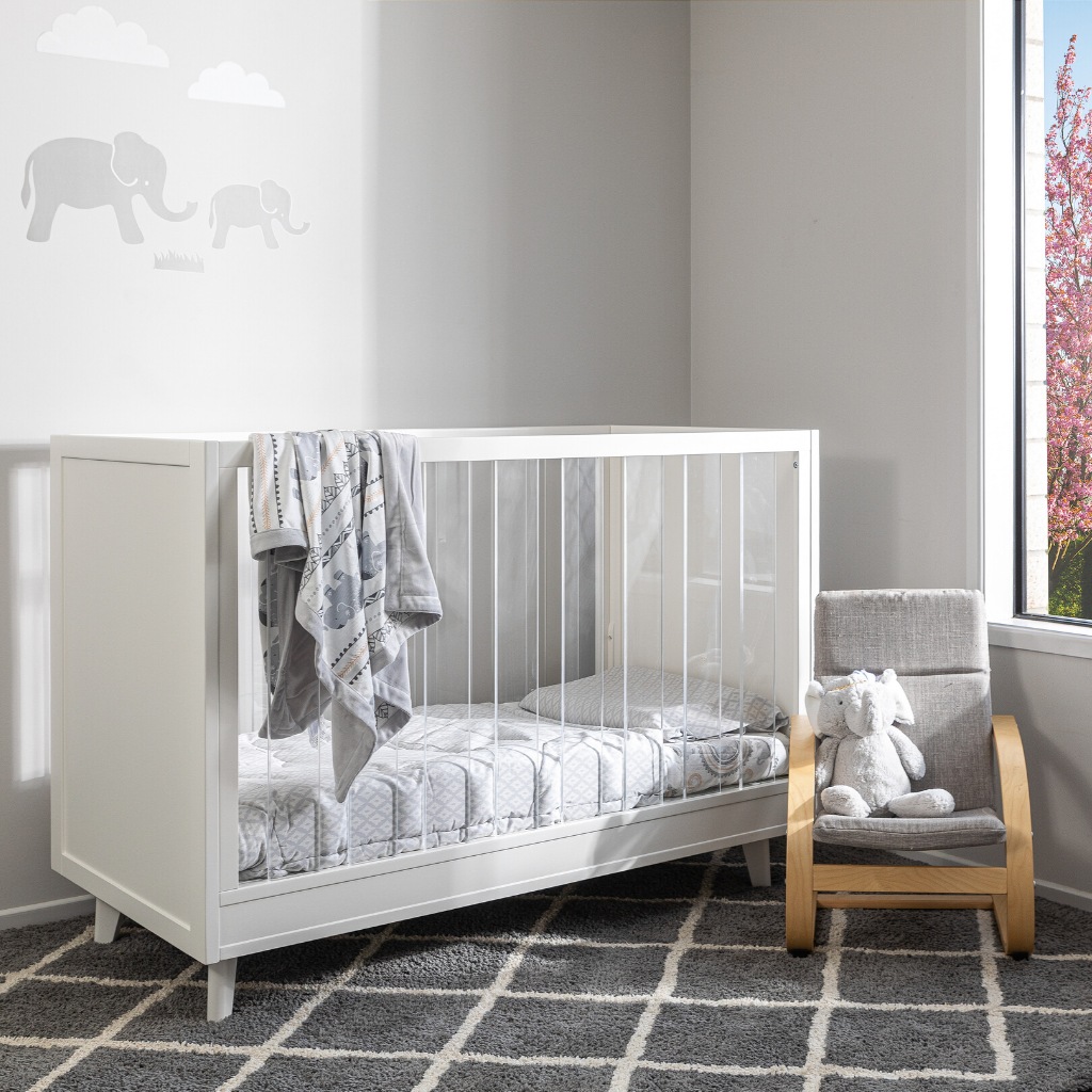 luxury convertible baby cot