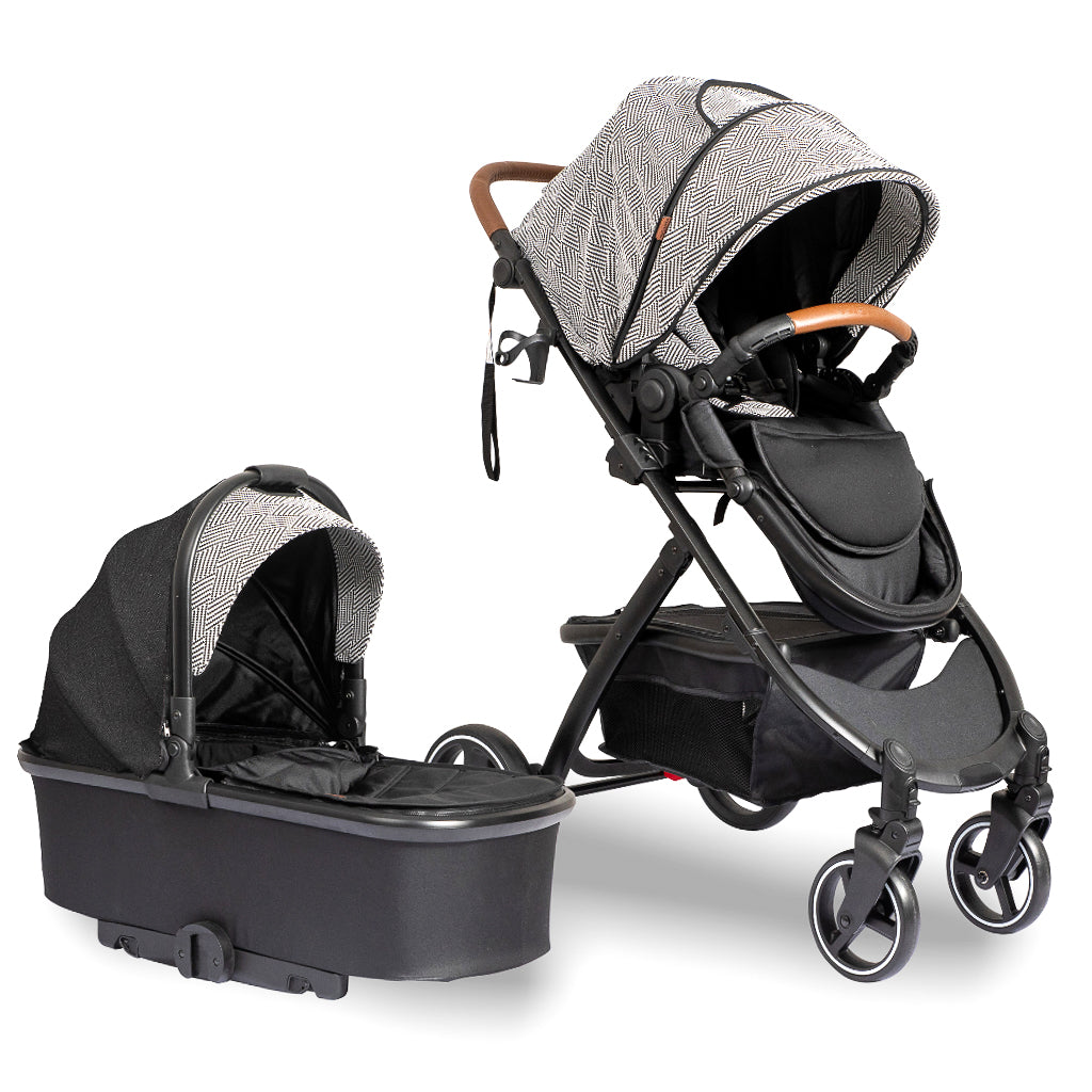 LAVISH - Multi function 2-in-1 Bassinet Stroller/Pram Bundle