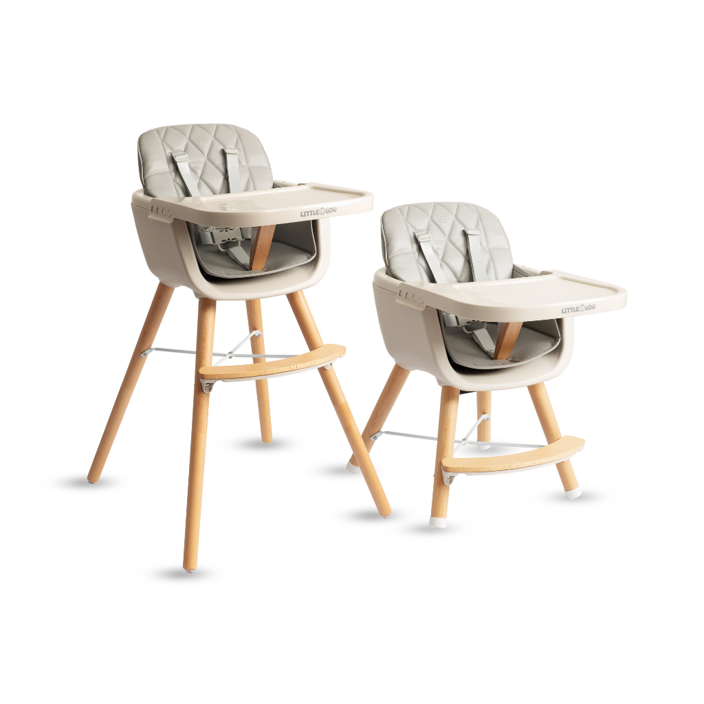 SWITCH - ADJUSTABLE BABY to TODDLER HIGH CHAIR