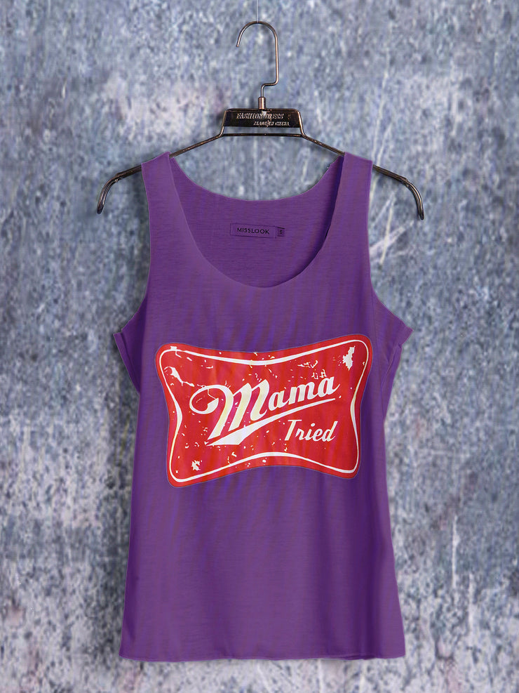 Graphic Plus Size Tank Tops