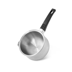 Saucepan BAIN-MARIE with double walls  16x9.5 cm / 0.95 LTR without lid (stainless steel)