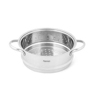 Steamer insert 20x8 cm with two side handles