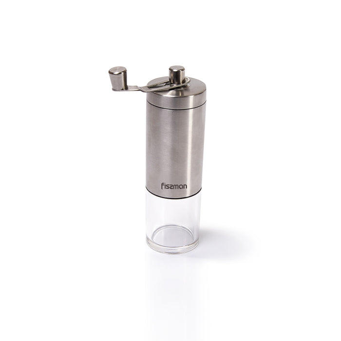 Manual coffee grinder 18 cm (stainless steel shell with ceramic grinder)