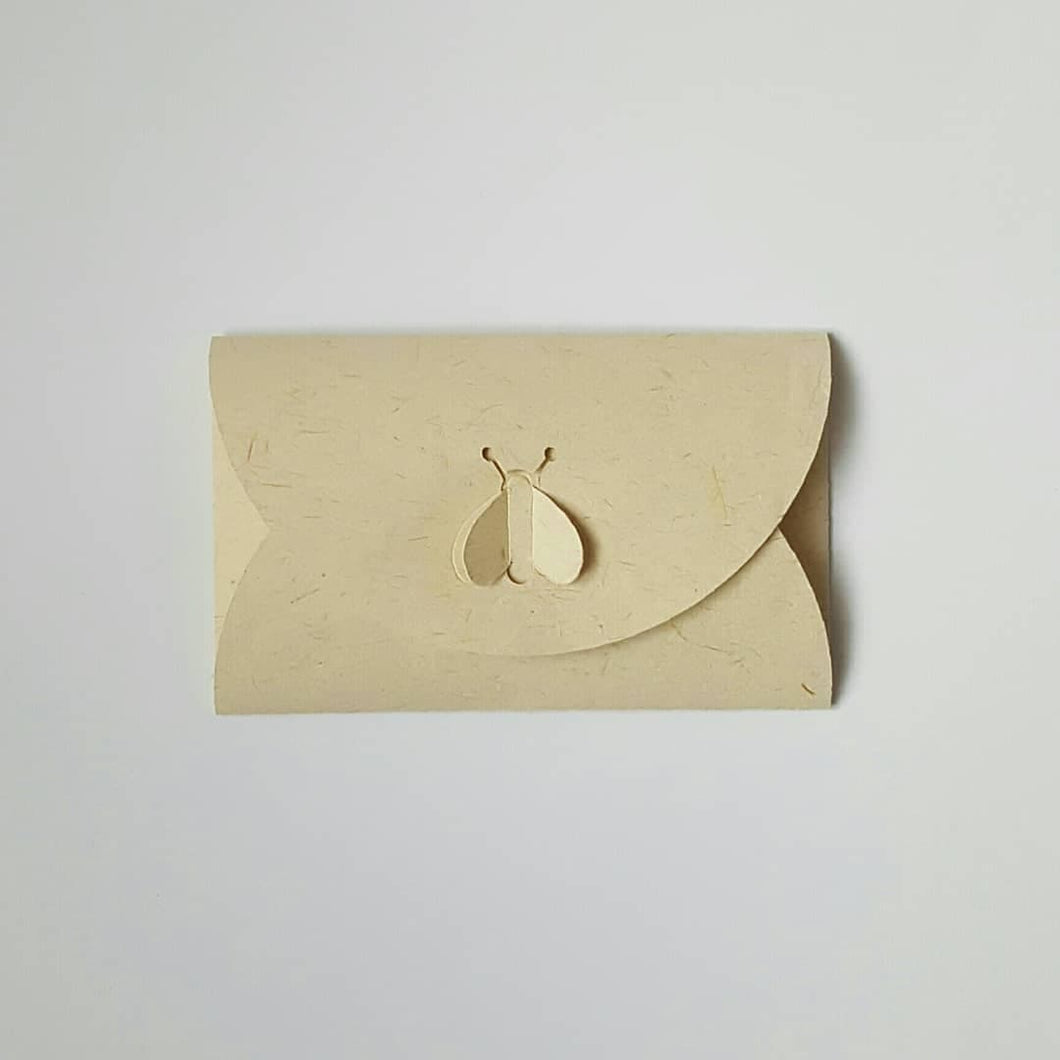 Bee Saving envelope with a Bee Lock