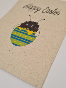 "Plantable ""Happy Easter"" card"