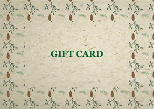Bee Saving Paper Gift Card