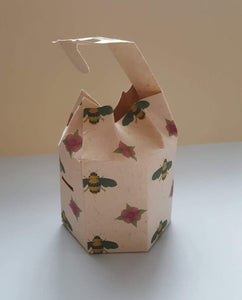 Gift box with Botanical Pattern