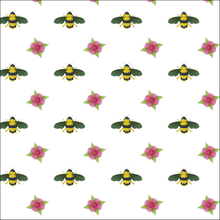 Load image into Gallery viewer, Wrapping Paper Botanical Bees&Flowers