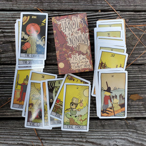 Tarot of the Unknown, 78-Card Deck - 2nd Printing