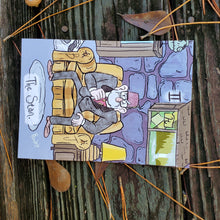 Load image into Gallery viewer, Gravity Falls, 5x7, Tarot Prints - Choose from Four Cards!