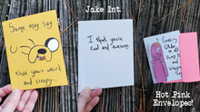 Load image into Gallery viewer, Adventure Time Greeting Cards! - Individual or Five-Card Set!