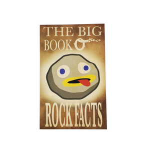 Big Book O' Rock Facts Journal: 90-lined Pages, 10 Rock Facts