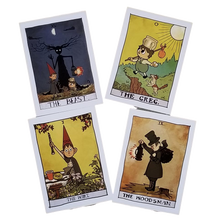 Load image into Gallery viewer, 5x7, Over the Garden Wall Tarot Prints - Choose from ANY of the 78 Cards!