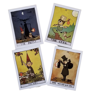 5x7, Over the Garden Wall Tarot Prints - Choose from ANY of the 78 Cards!