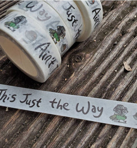 Over the Garden Wall Inspired Washi Tape - Includes Gregdalorian!