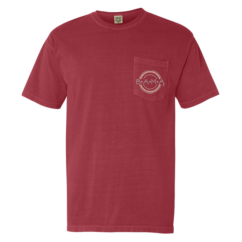 Boho Circle | Women's Alabama Crimson Tide T-Shirt | Crimson