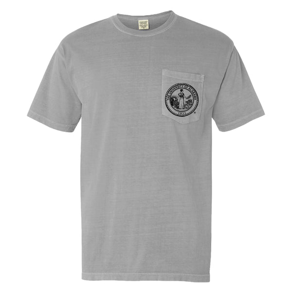 Bryant Denny | Men's Alabama Crimson Tide T Shirt | Granite
