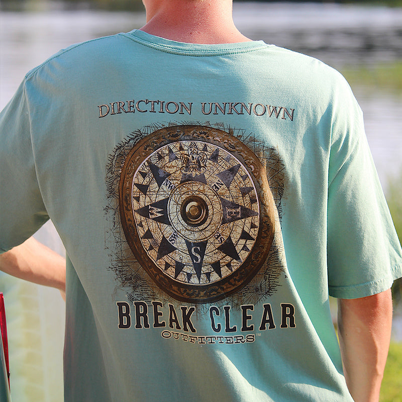 Direction Unknown | Break Clear Men's Outdoor T-Shirt | Organic Pima Cotton