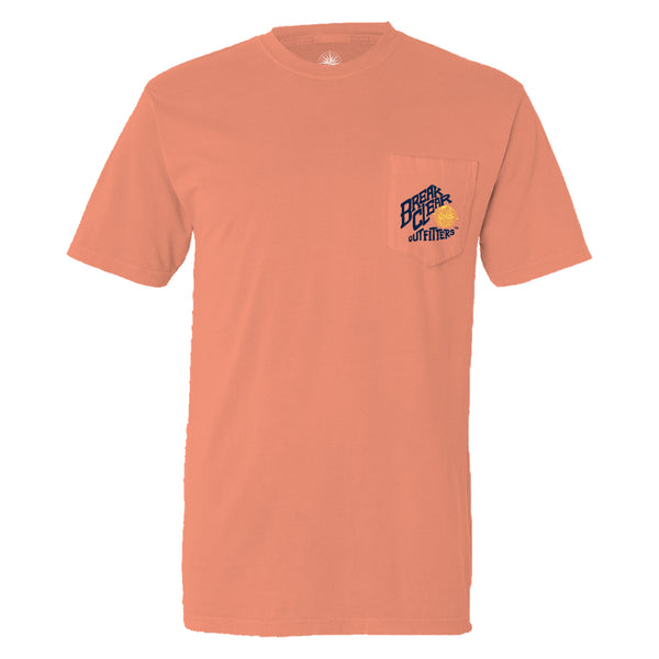 Paddleboard | Break Clear Men's Outdoor T-Shirt | Organic Pima Cotton