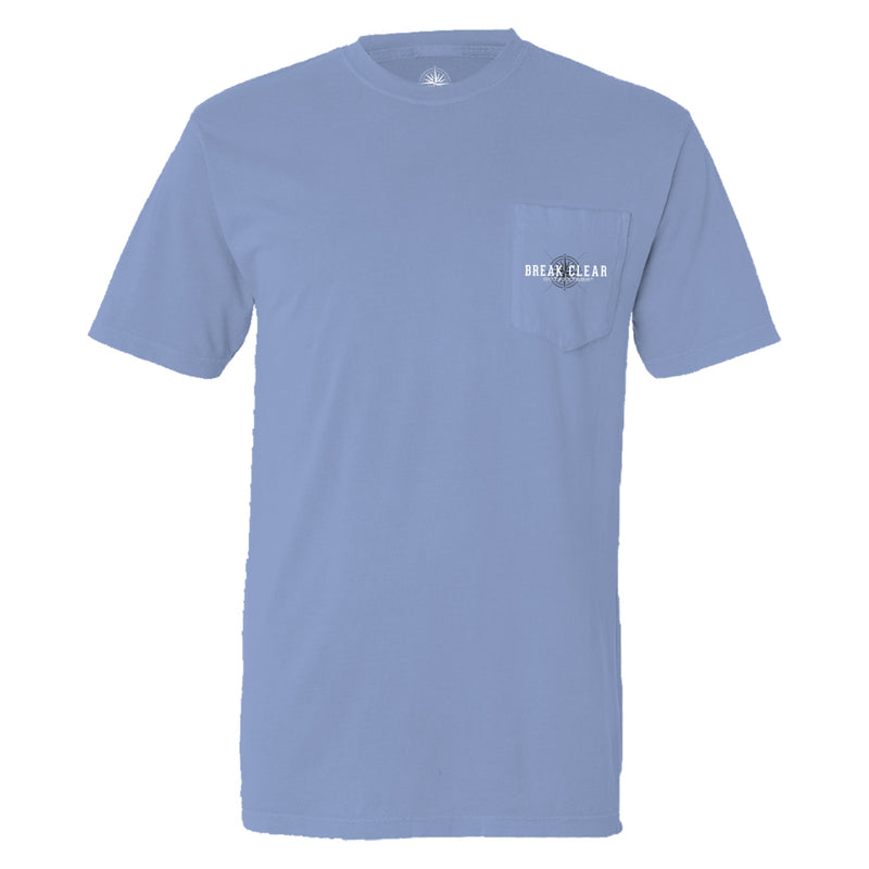 Pastime | Break Clear Men's Fishing T-Shirt | Organic Pima Cotton