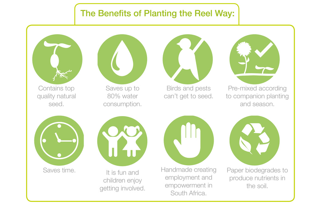 Benefits of Reel Gardening