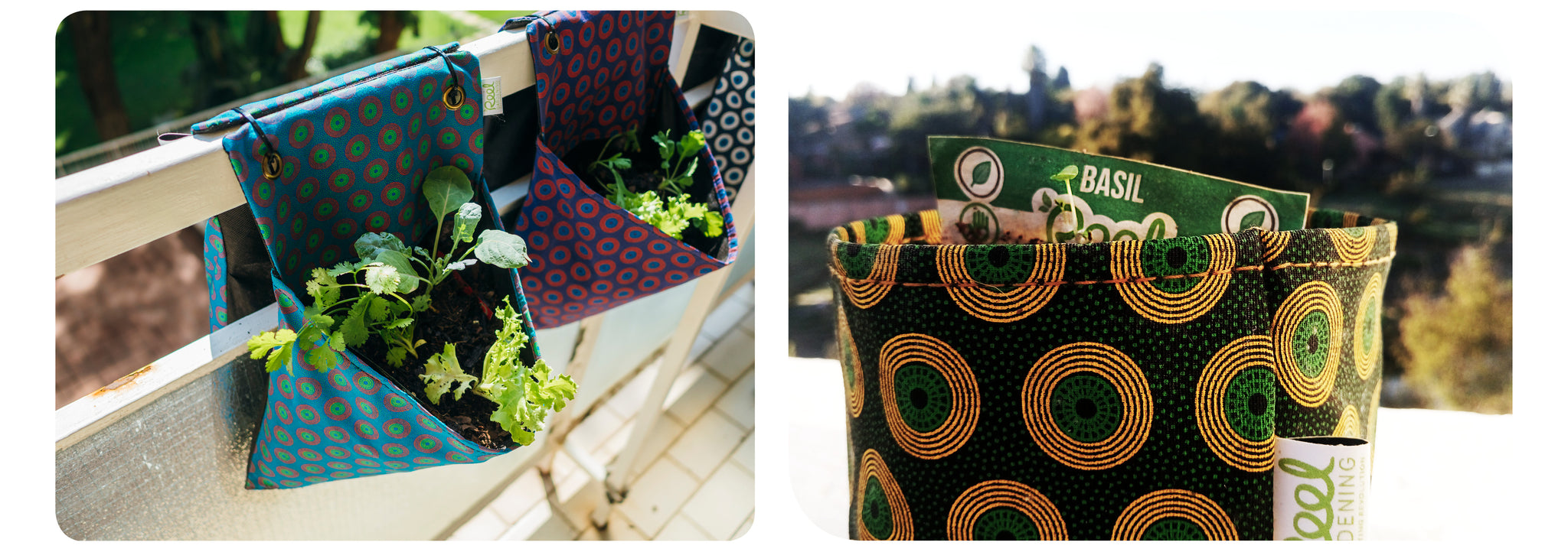 Reel Gardening Bag and Pot