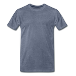 Load image into Gallery viewer, T-shirt unis pour homme - bleu chiné