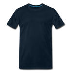 Load image into Gallery viewer, T-shirt unis pour homme - bleu marine profond