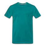 Load image into Gallery viewer, T-shirt unis pour homme - teal