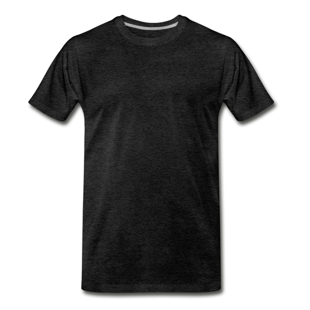 T-shirt unis pour homme - charcoal gray