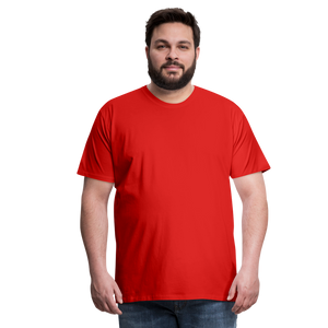 T-shirt unis pour homme - red