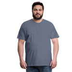 Load image into Gallery viewer, T-shirt unis pour homme - heather blue