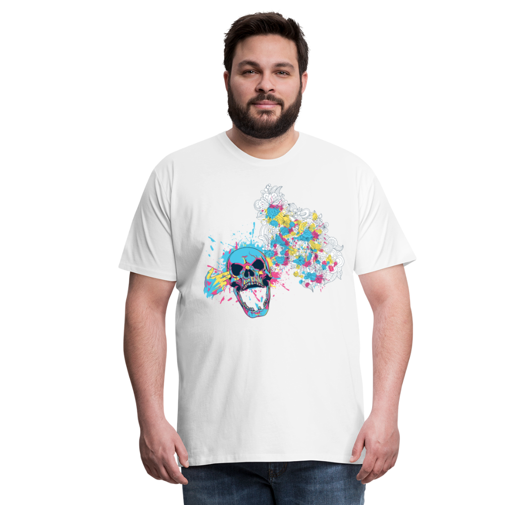 T-Shirt Mind Blown - white