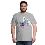 Load image into Gallery viewer, T-Shirt Mind Blown - heather gray