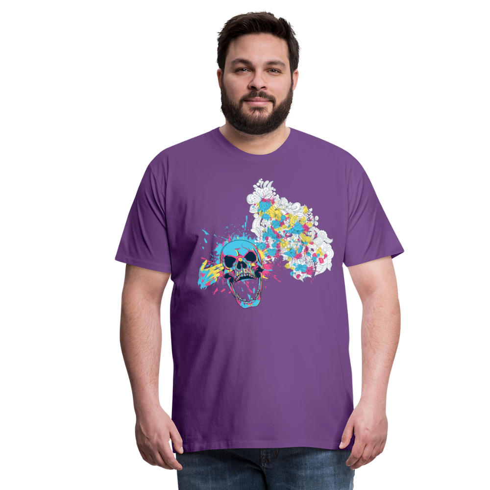 T-Shirt Mind Blown - purple