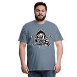 Load image into Gallery viewer, T-Shirt - Gazé - steel blue