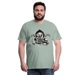 Load image into Gallery viewer, T-Shirt - Gazé - steel green
