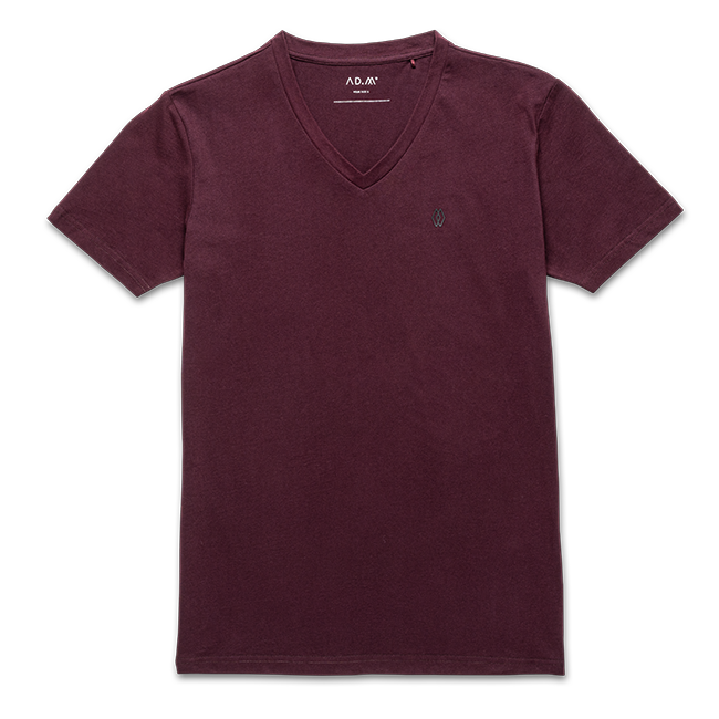 THE SHIRT maroon