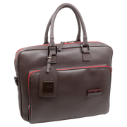 THE LAPTOP BAG BROWN-RED