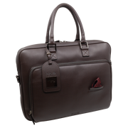THE LAPTOP BAG BROWN