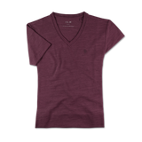 THE V-SHIRT Maroon