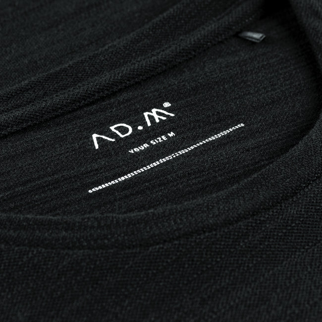 The Shirt in schwarz von AD.M the-polo