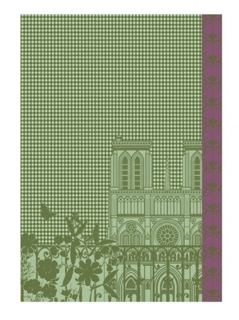 Guest Towel - Fenetre Sur Paris - Maple 54x38cm