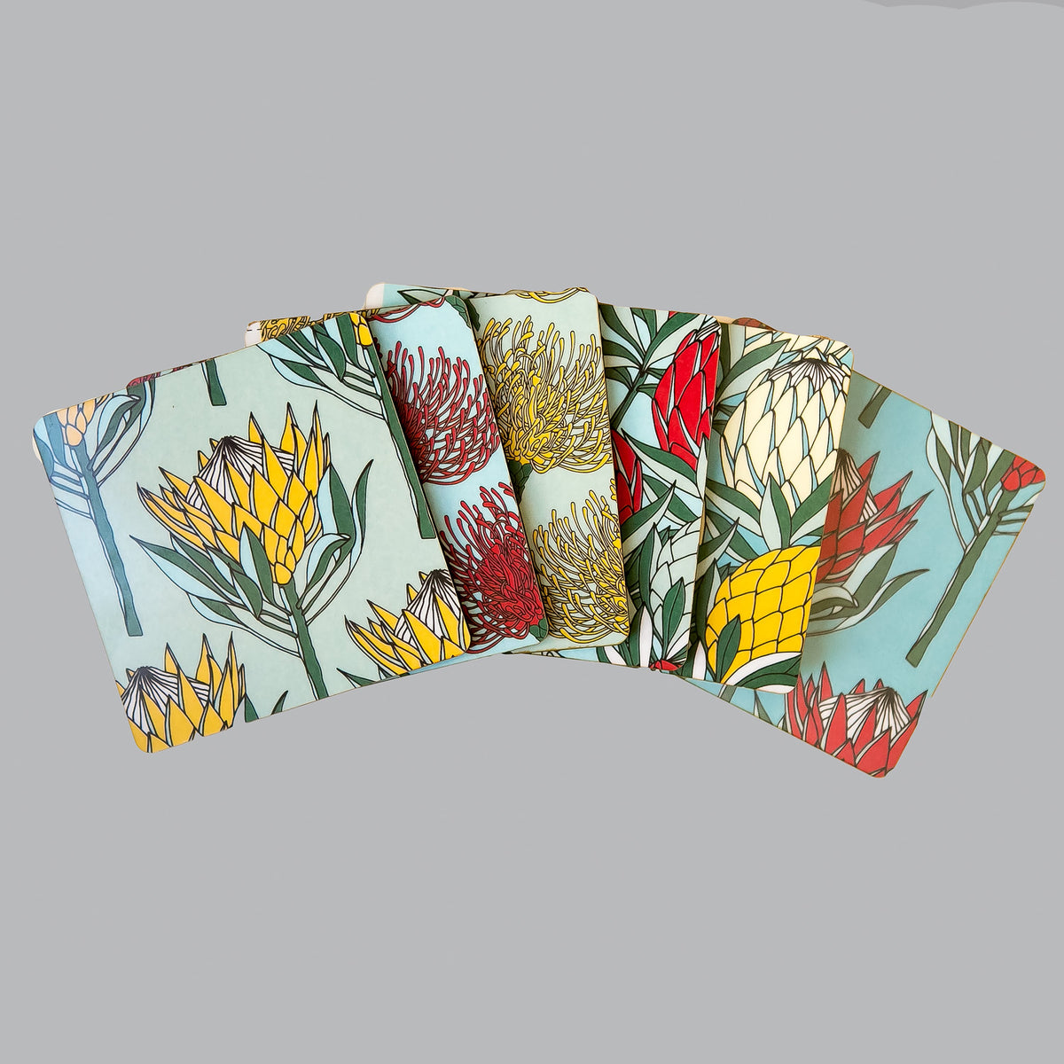 Coasters Protea Collection - Set of 6