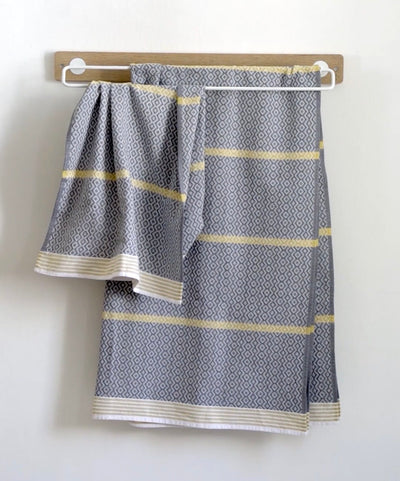 Bath Sheet - Itawuli - Cango Grey 108 x 190cm