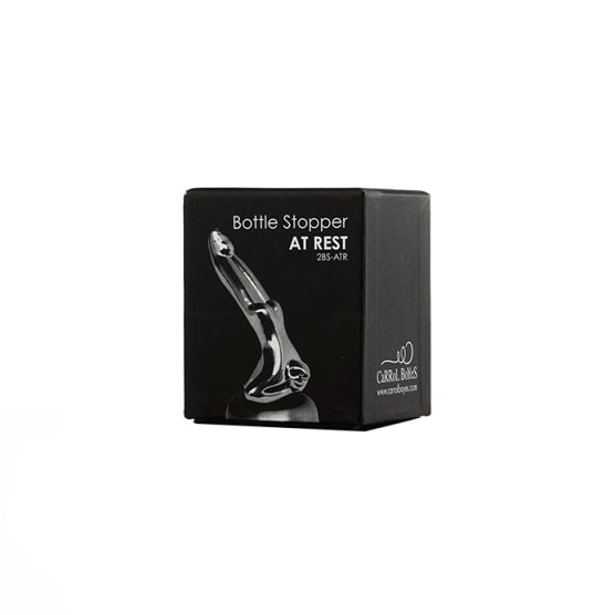 Carrol Boyes At Rest Champagne and Wine Bottle Stopper