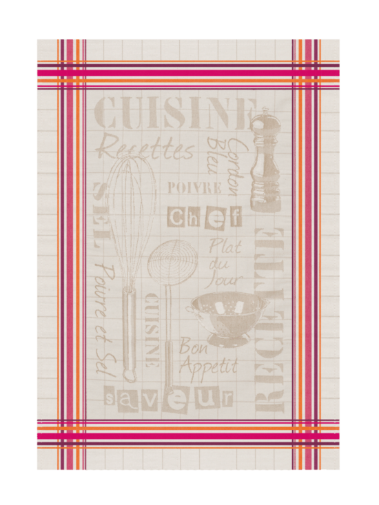 Tea Towel - Cuisine