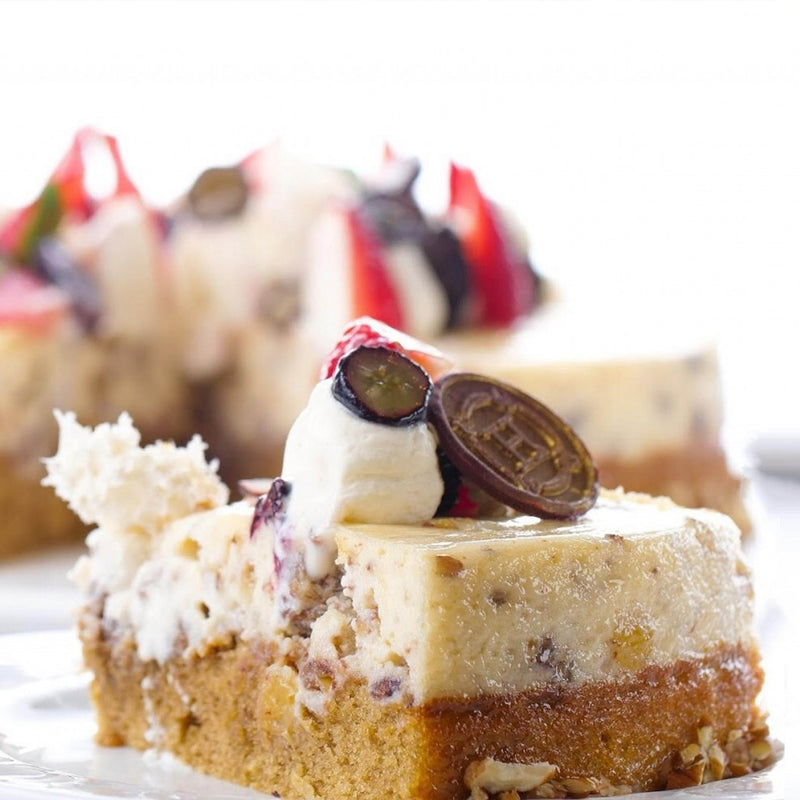 HORATII Pecan cheesecake
