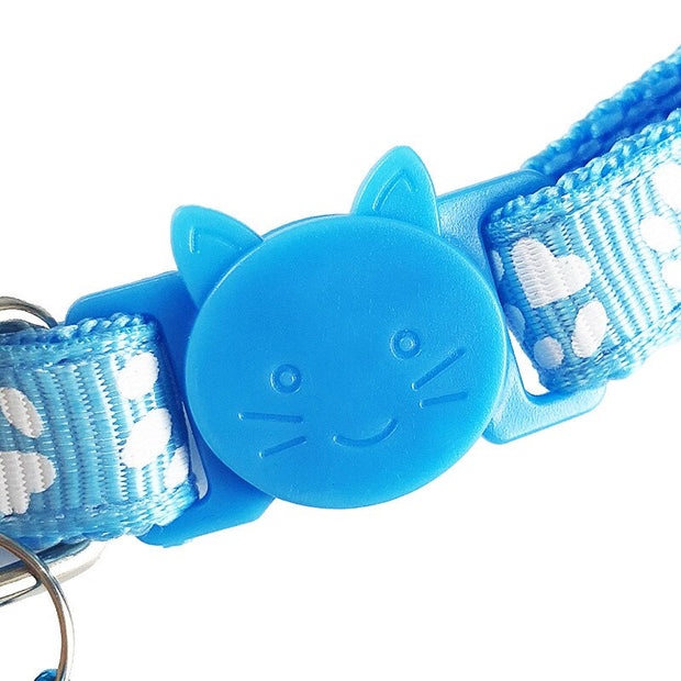 Lovely Small Footprint Cat Collar