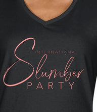 Load image into Gallery viewer, Black International Slumber Party T-Shirt